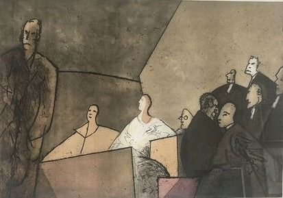 Etching And Aquatint Constant - The trial