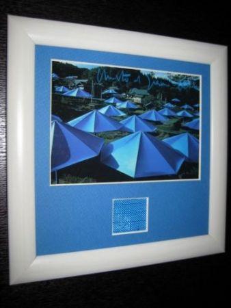 No Technical Christo - The umbrellas collage