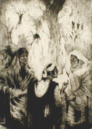Etching Kloss - The Visitor's Tale