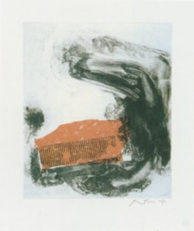 Etching Motherwell - The Wave