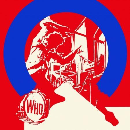Screenprint Messac - The who