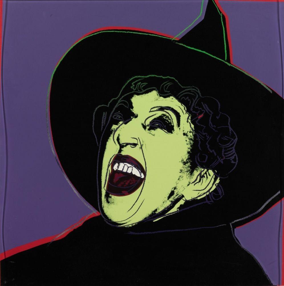 Screenprint Warhol - The Witch (FS II.261)