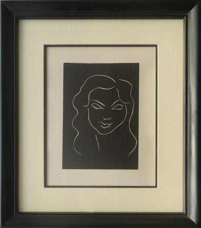 Linocut Matisse - Themes et Variations - Frontispiece