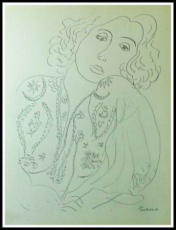 Lithograph Matisse - THEMES & VARIATIONS I