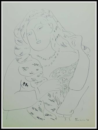 Lithograph Matisse - THEMES & VARIATIONS VI