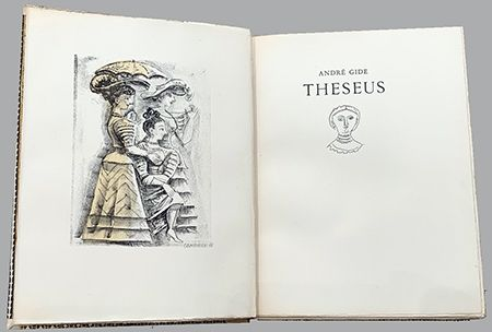 Illustrated Book Campigli - Theseus