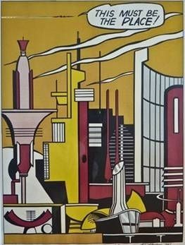 Lithograph Lichtenstein - This Must Be The Place