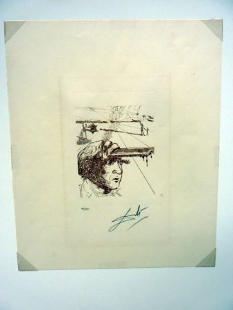 Etching Dali - Thomas Edison