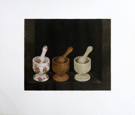 Etching Hwang - Three Grinders
