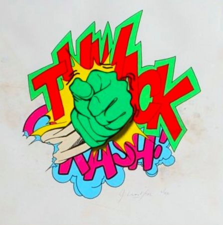 Lithograph Matos - Thwack