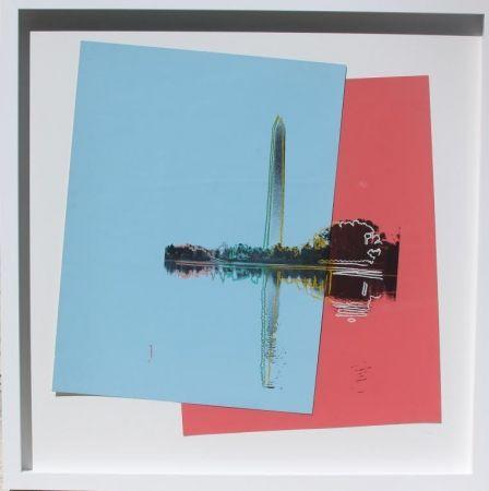 Screenprint Warhol - Tidal Basin-Washington Post