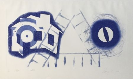 Etching Rosenquist - TIDE (State 2)
