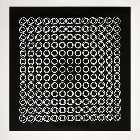 Screenprint Vasarely - '' TIEFENBILDER ''