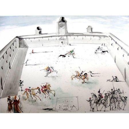 Lithograph Dali - Tienta en Espana