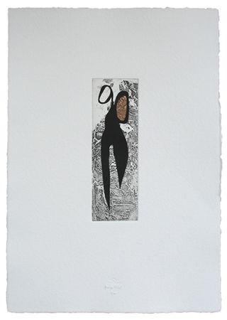 Etching And Aquatint Baroja-Collet - Tijeras Iv