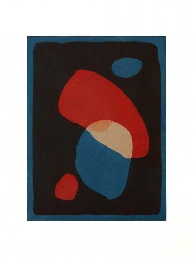 Aquatint Treleaven - Times Square red, Times Square blue