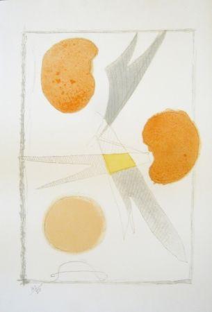 Lithograph Braque - Tirée de La liberté des mers