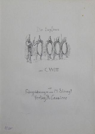 Lithograph Slevogt - Titel