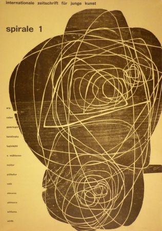 Woodcut Roth - Titelbild für Spirale 1