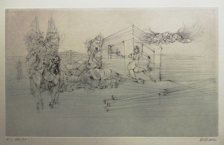 Etching And Aquatint Bellmer - Titre inconnu