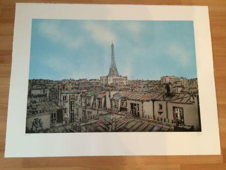 Screenprint Walker - TMA Paris