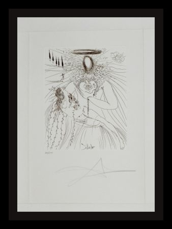 Etching Dali - To Every Captive Soul
