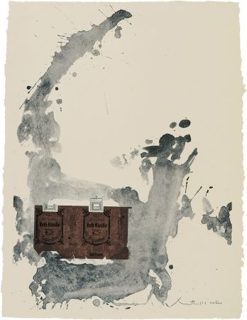 Lithograph Motherwell - Tobacco Roth-Handle