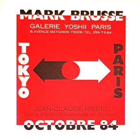 Lithograph Brusse - Tokyo  Paris