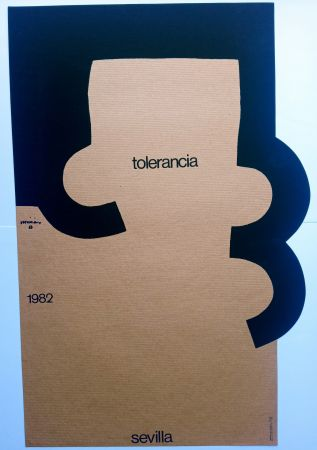 Screenprint Chillida - Tolerancia