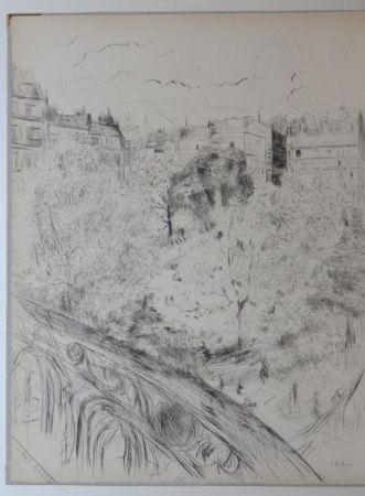 Etching And Aquatint Vuillard  - Tombeau de Edouard Vuillard