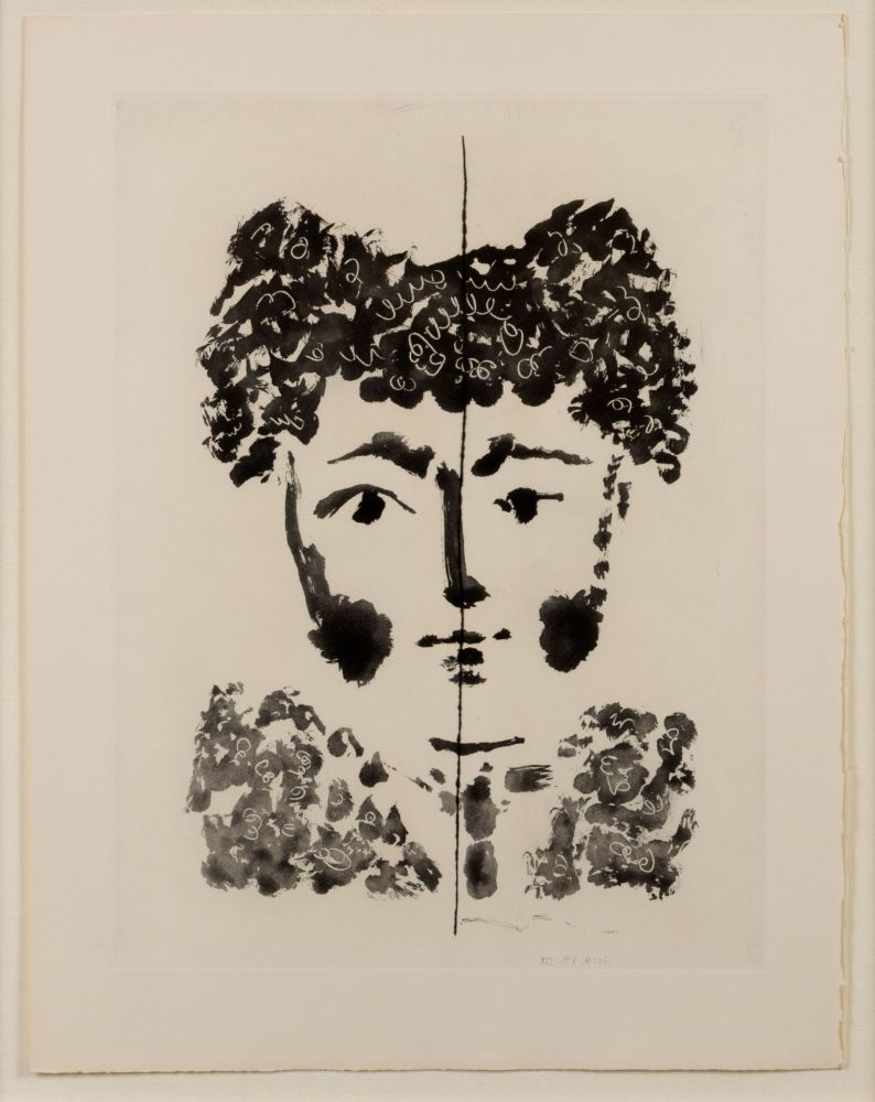 Aquatint Picasso - Torero