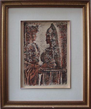 Lithograph Picasso - Torero y Senorita
