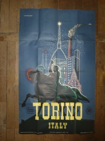 Poster Campagnoli - Torino