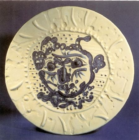 Ceramic Picasso - Tormented Faun's Face