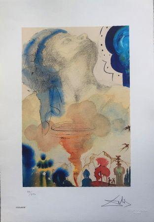 Lithograph Dali - Tornado INTERGRAFICA 38X56
