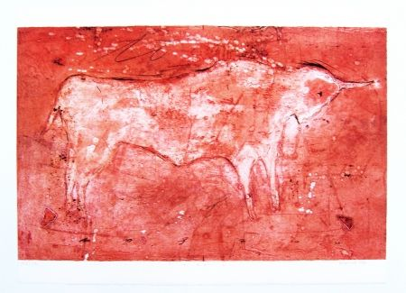 Lithograph Gorodine - Toro