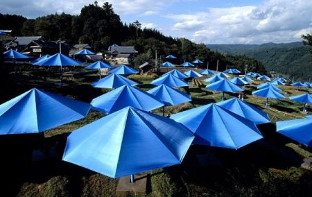 Photography Christo - Toronto Edition, The Umbrellas, Japan