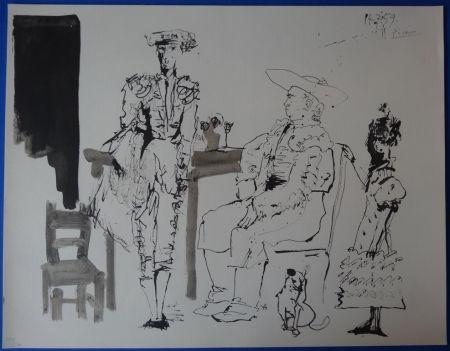 Pochoir Picasso - Toros - 15 lithographs
