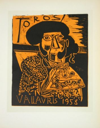 Lithograph Picasso (After) - Toros  1958