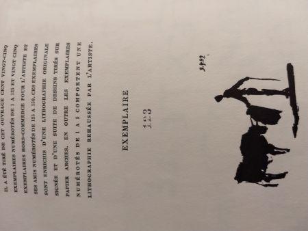 Illustrated Book Picasso - Toros Toreros