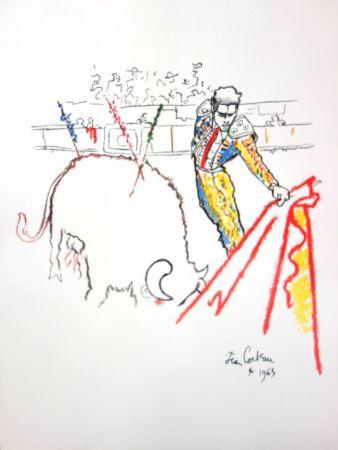 Lithograph Cocteau - Torrero