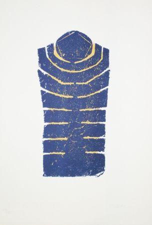Lithograph Ubac - Torse