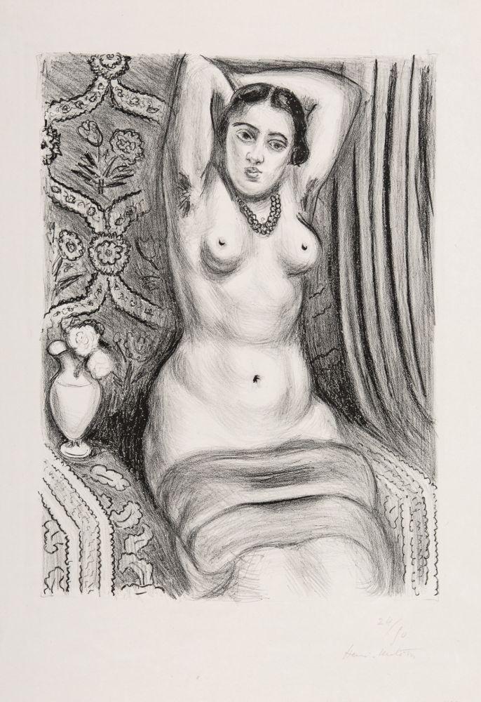 Lithograph Matisse - Torse à l'Aiguière