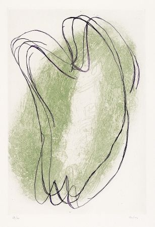 Etching And Aquatint Fautrier - Torses en deux couleurs