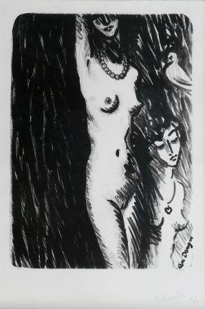 Lithograph Van Dongen - Torso