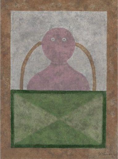 Etching And Aquatint Tamayo - Torso en Rosa
