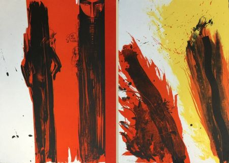 Lithograph Jones - TOTEM DIPTYCH