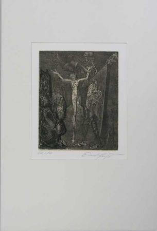 Engraving Fuchs - Totenglocke