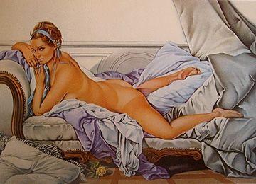 Lithograph Ramos - Touche le Boucher