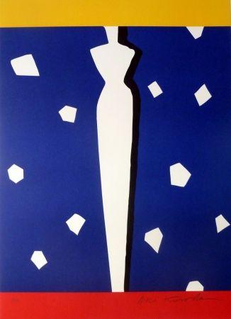Lithograph Kuroda - Tour des Cardinaux